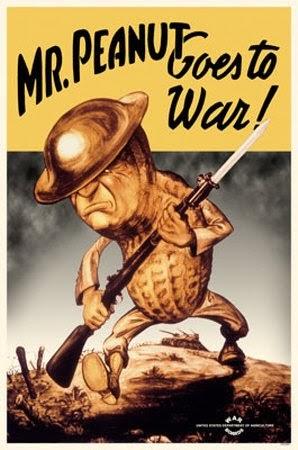 mr peanut goes to war